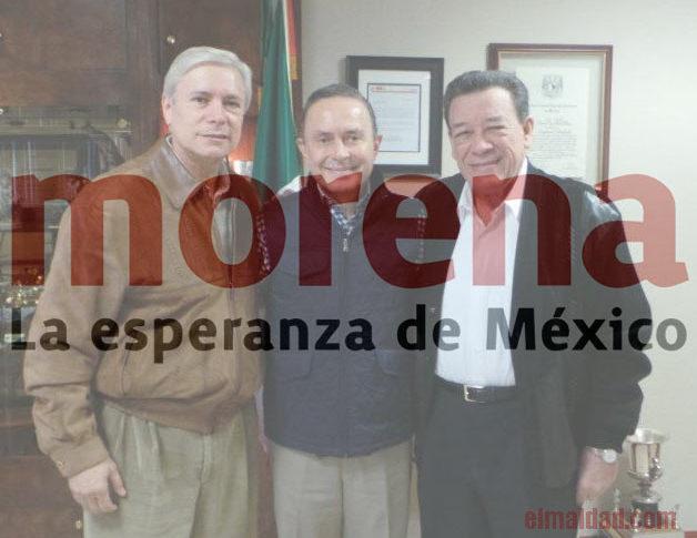 Bonilla, Castro Trenti y Xico.