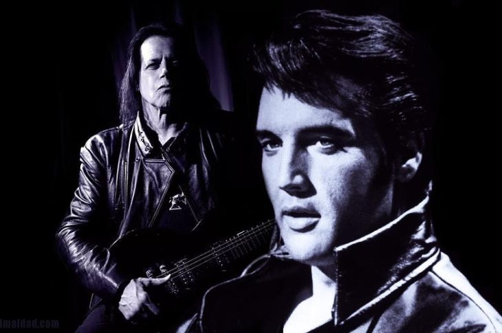 Danzig junto con Elvis.