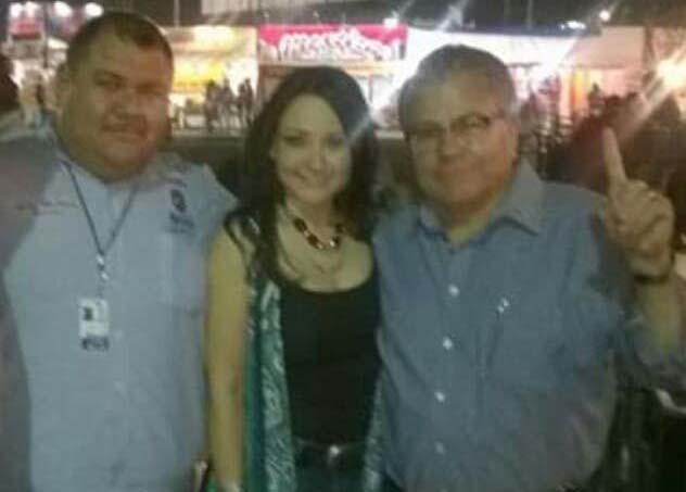 Julio, Sonia Carrillo y Jaime Díaz.