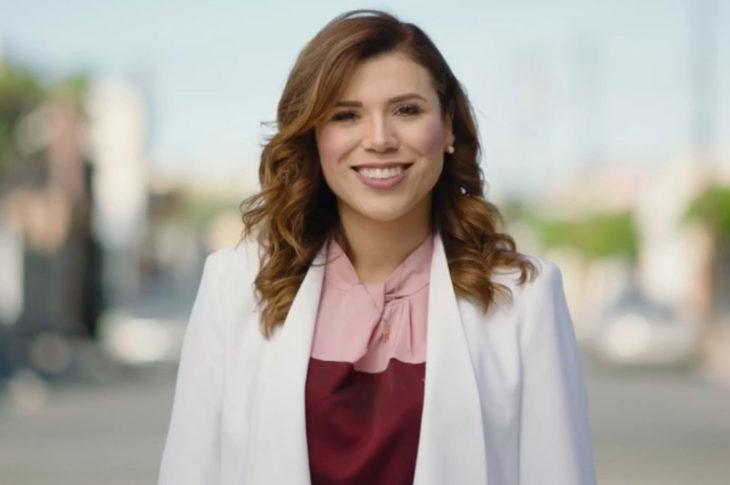 Captura de pantalla del spot de Marina del Pilar.