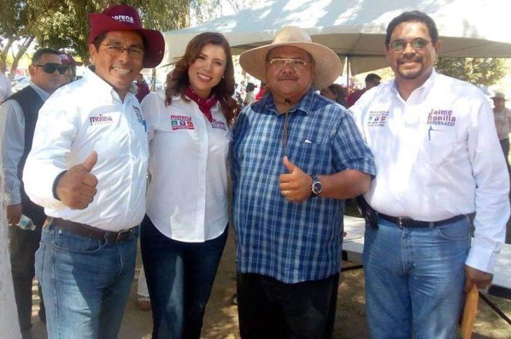 Juan Manuel, Marina, Julio y Modesto.