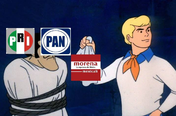Meme: Morena BC es el nuevo PRIAN