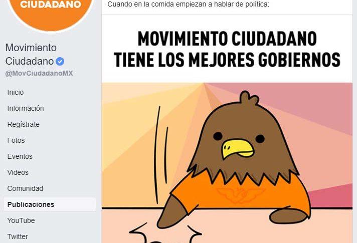 Meme de Movimiento Ciudadano.
