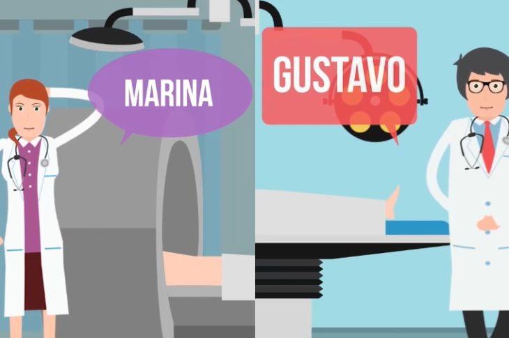 Marina y Gustavo.