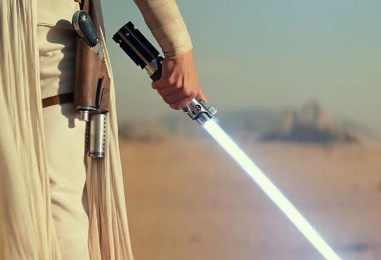 Captura de pantalla de Star Wars episodio IX.