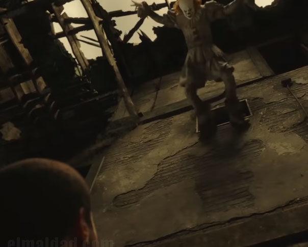 Captura de pantalla del trailer de IT 2.