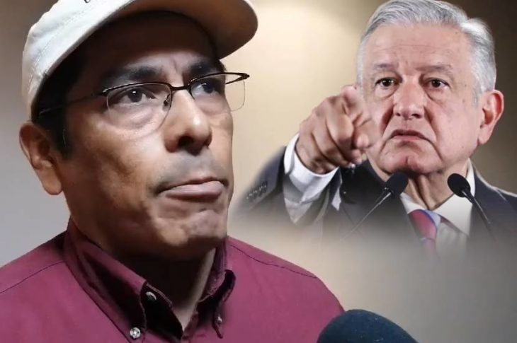 Juan Manuel Molina dice que no sabe de ningún deslinde de AMLO.