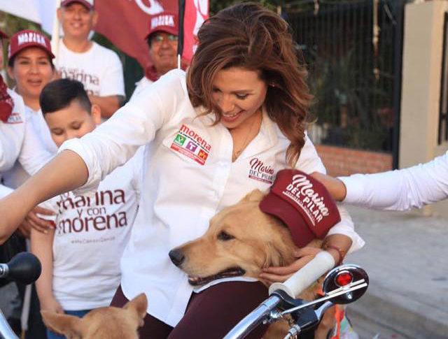 Marina del Pilar en campaña.