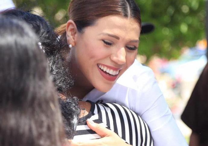Marina del Pilar, foto de campaña.