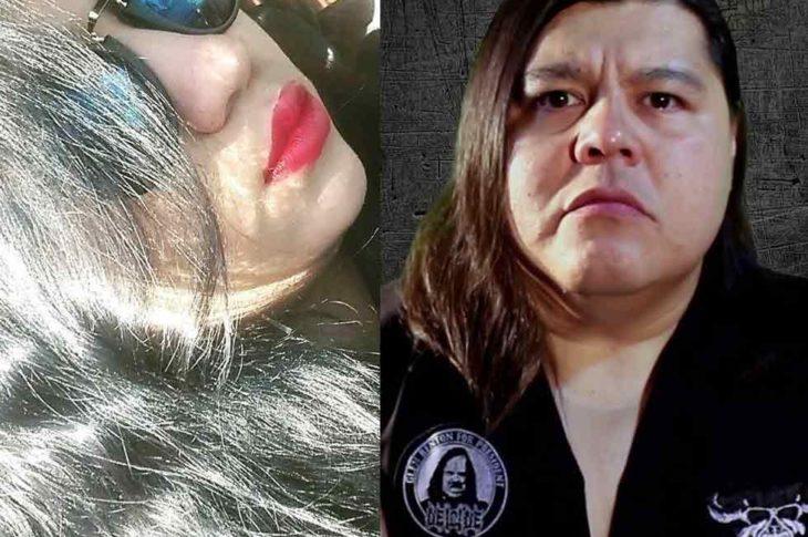 """Naty Quimera y Humberto Reyes """"El Maldad""""."""