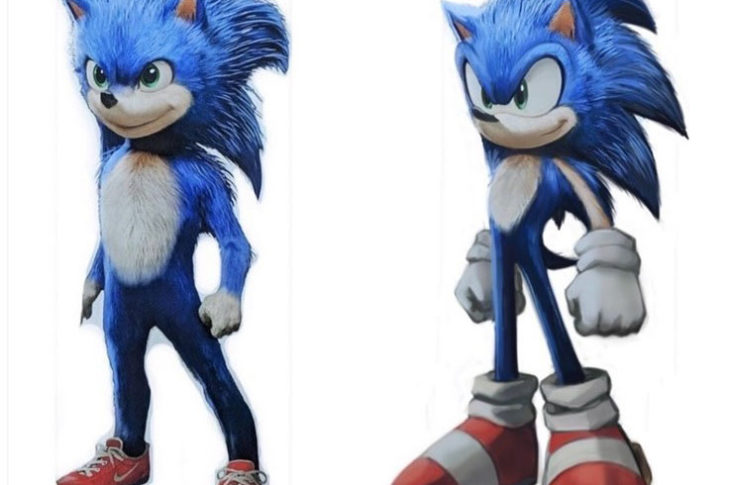 Modificaciones a Sonic realizadas por un fan.