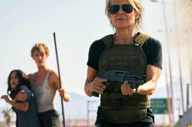 Escena de Terminator: Dark Fate.