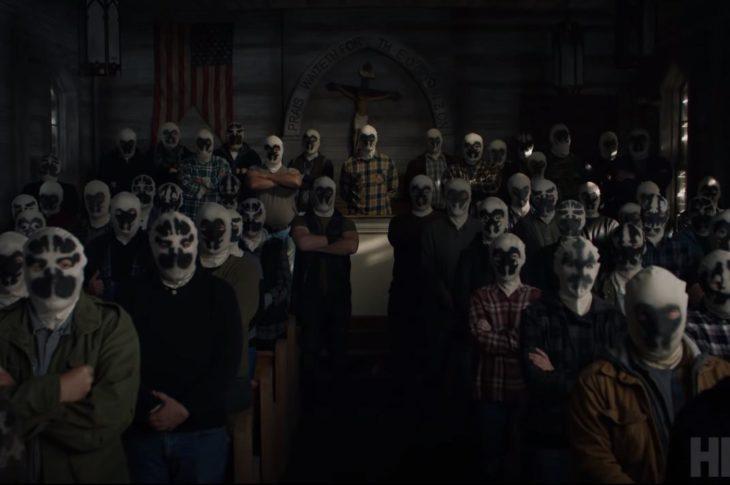 Captura de pantalla del teaser de Watchmen.