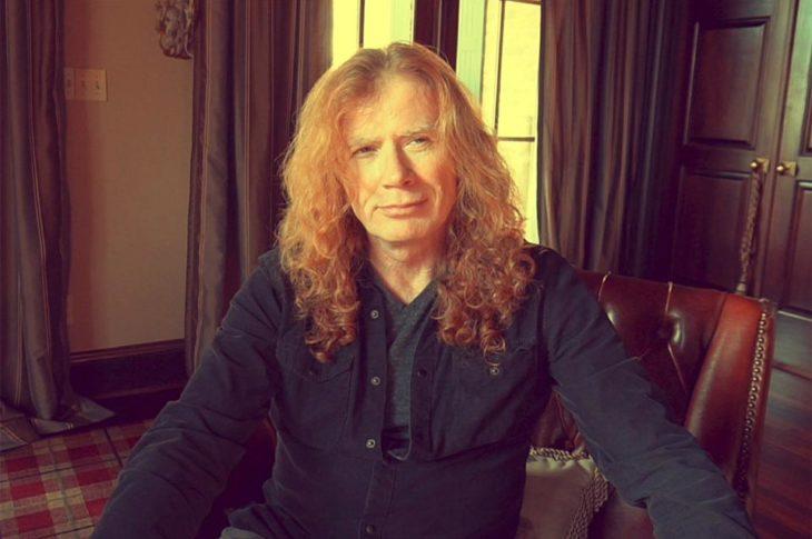 Dave Mustaine, líder y fundador de Megadeth.