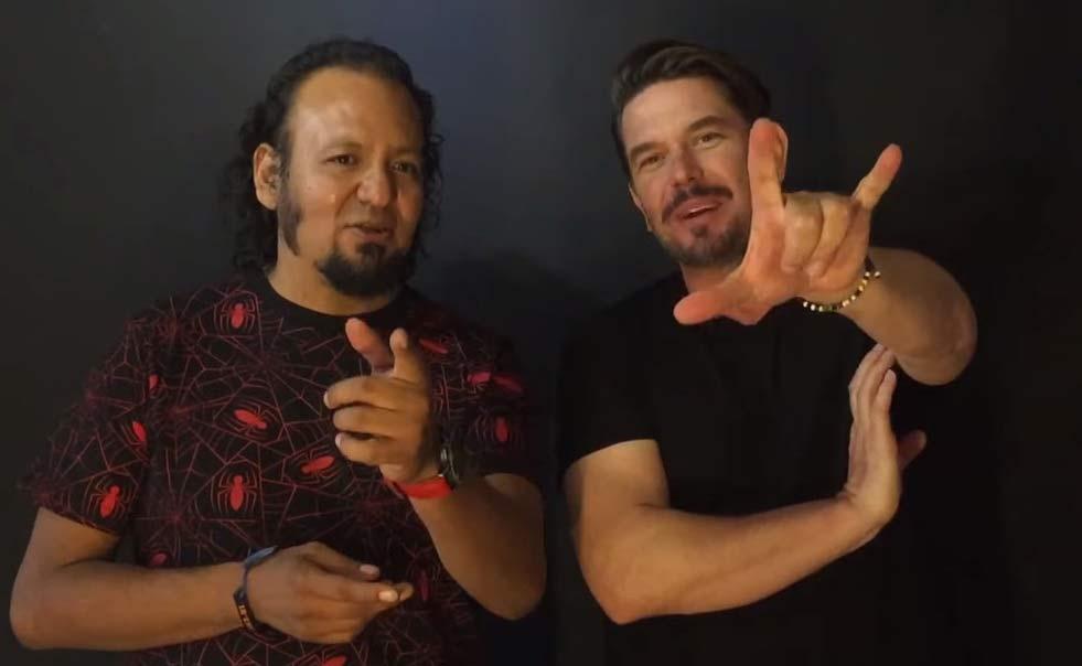 Jesús Chavarria y Kristoff Raczynski.