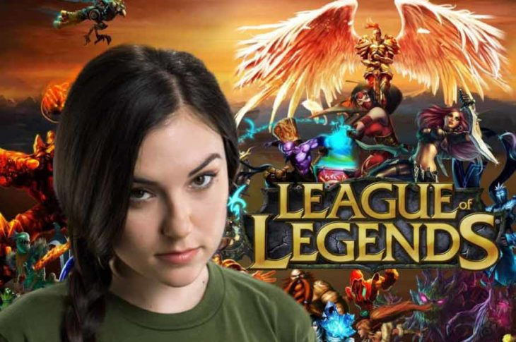 Sasha Grey hace gameplays de League Of Legends.