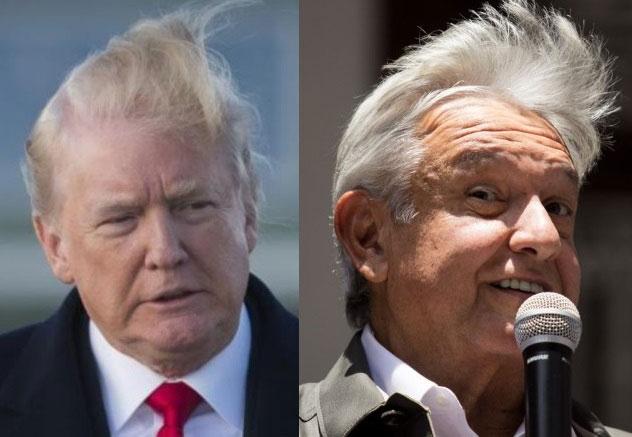 Trump y AMLO.