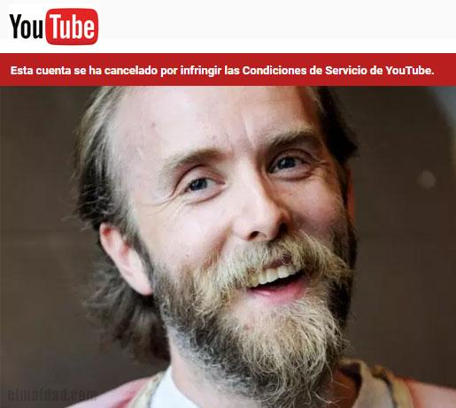 Le eliminan segundo canal a Varg Vikernes.