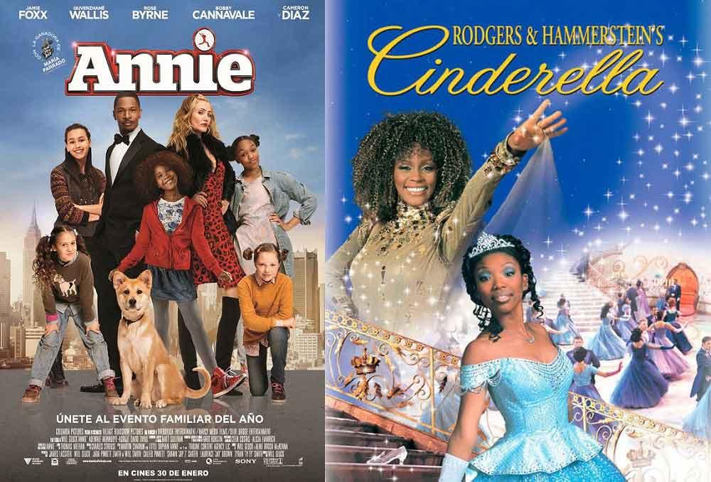 Annie y La Cenicienta fueron fracasos.