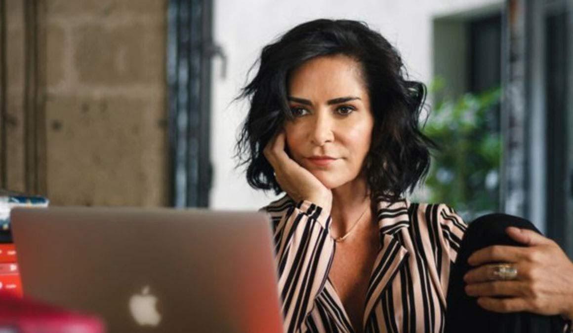 Lydia Cacho, periodista mexicana.