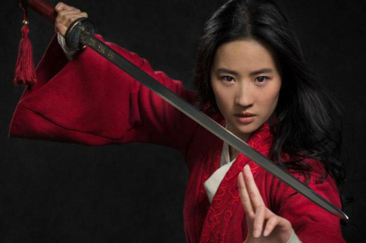Liu Yifei es la actriz que da vida a Mulan.