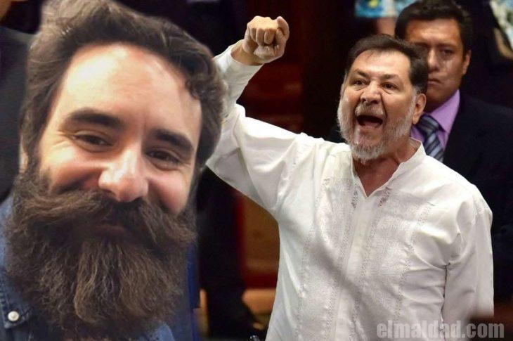 Rafael Arias y Gerardo Fernández Noroña.