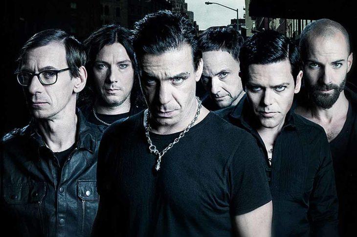 Foto promocional de Rammstein.