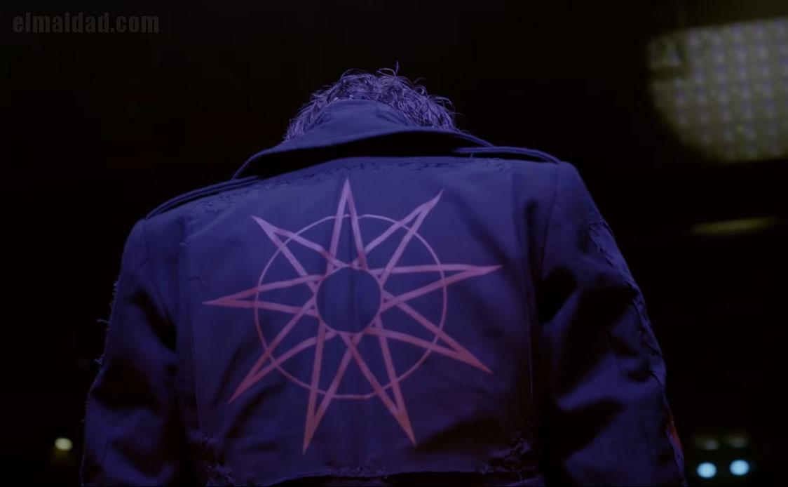 Una de las tomas iniciales del vídeo Solway Firth de Slipknot.