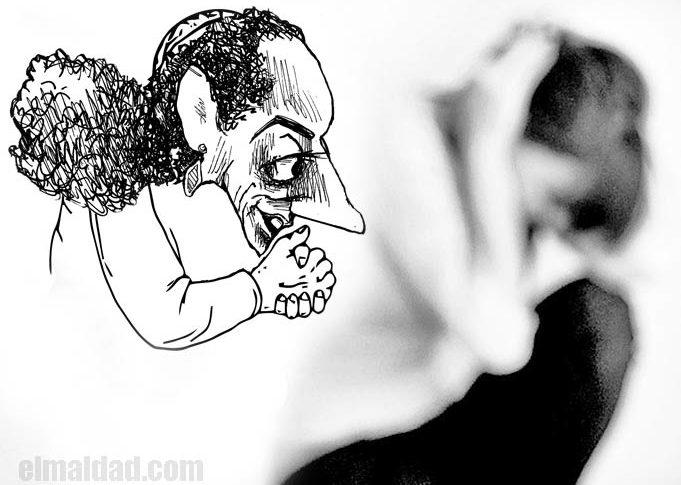 Caricatura de Claudia Sheinbaum.