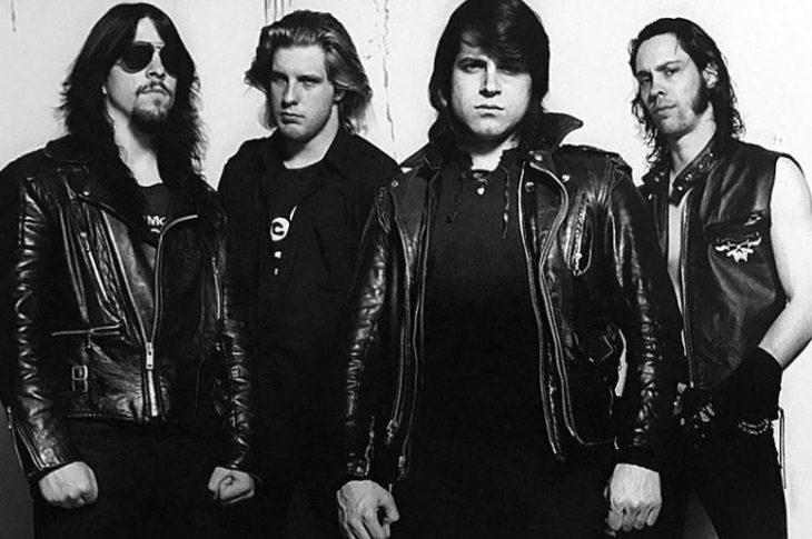 Glenn Danzig con la alineación de su álbum debut.