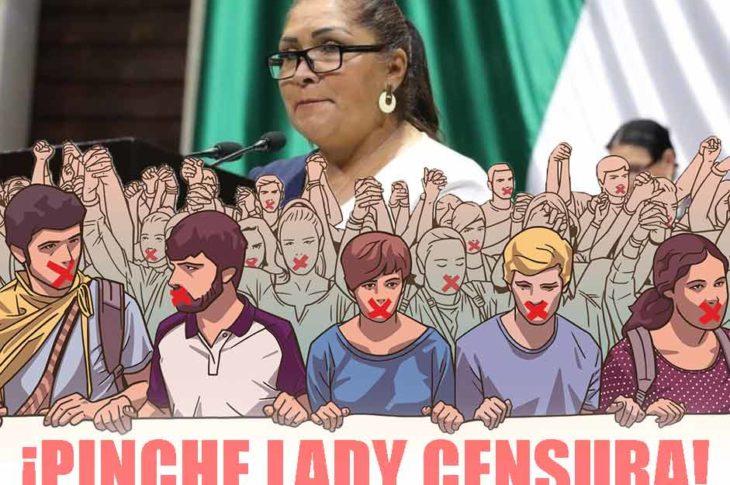 Diputada María Rosete es nombrada #LadyCensura.