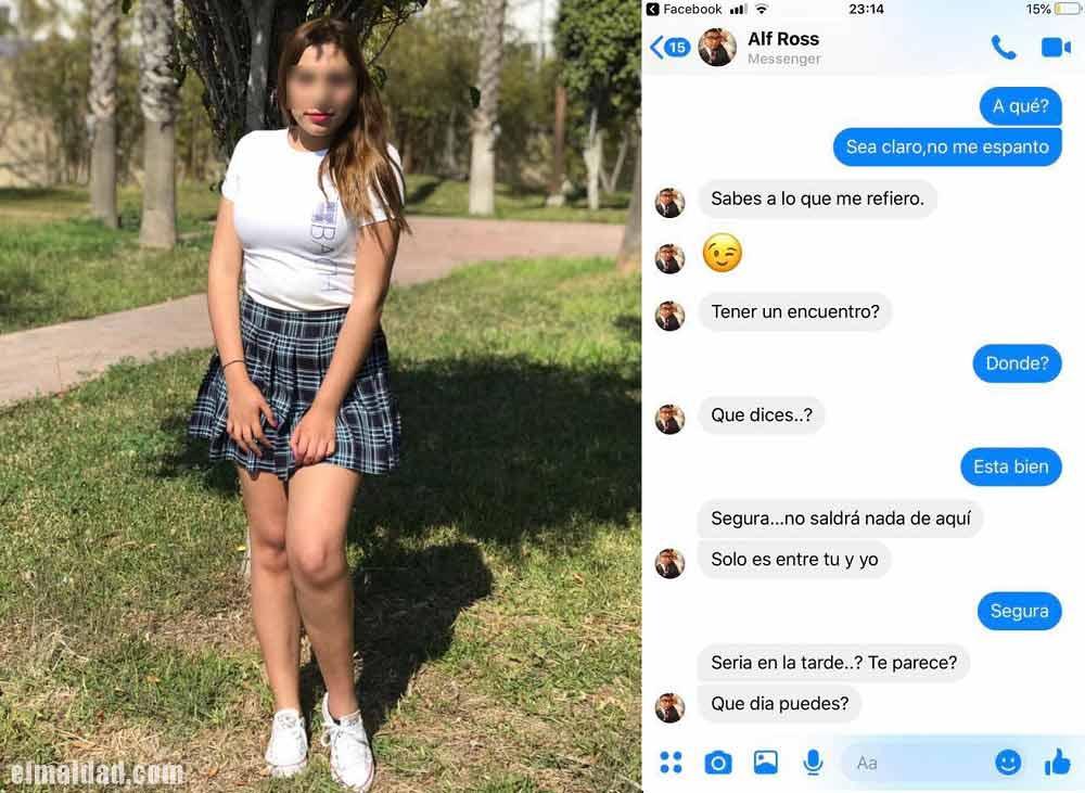 Mariana Rochín denunció propuesta indecorosa de un profesor de su preparatoria.
