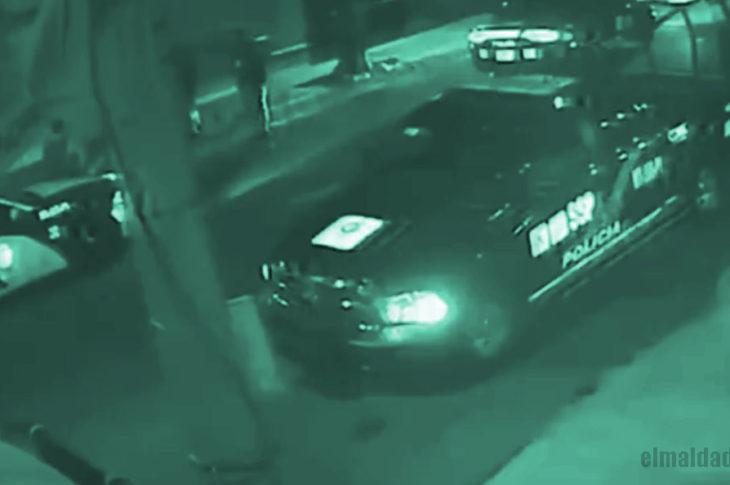 Vídeo cuando encuentran a la menor que acusa a policías de haberla violado.