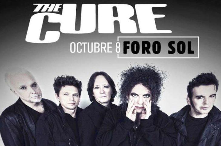 The Cure en vivo el 8 de Octubre en el Foro Sol de la CDMX.