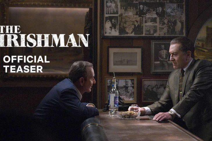 The Irishman ya tiene teaser oficial.