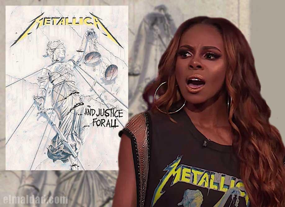 Candiace Dillard descubre quien es Metallica.