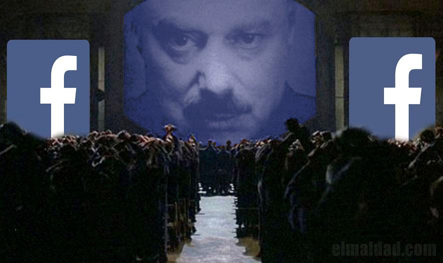 Facebook parece que quiere hacer tributo a 1984 de George Orwell.