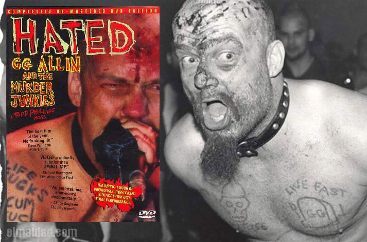 Hated, el documental sobre GG Allin.
