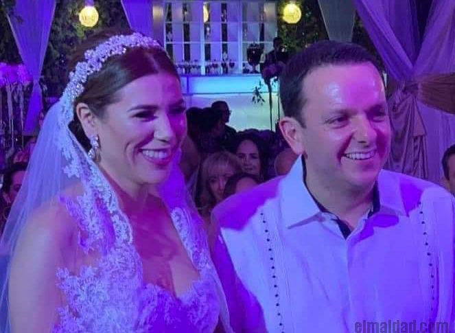 Marina del Pilar y Carlos Torres.