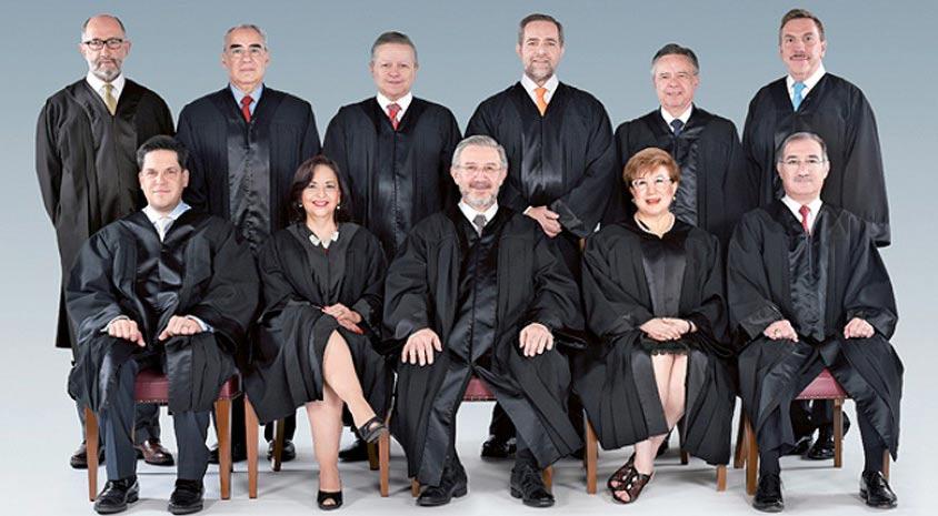 Ministros de la Suprema Corte de Justicia de la Nación en México.