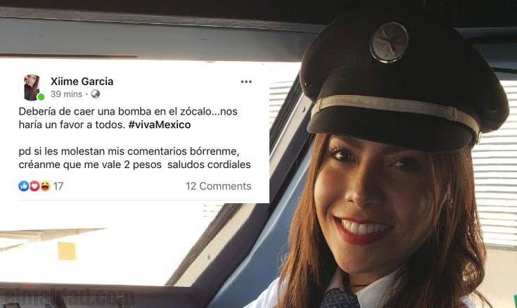 Ximena García escribió un estado que no les hizo gracia a los amlovers.