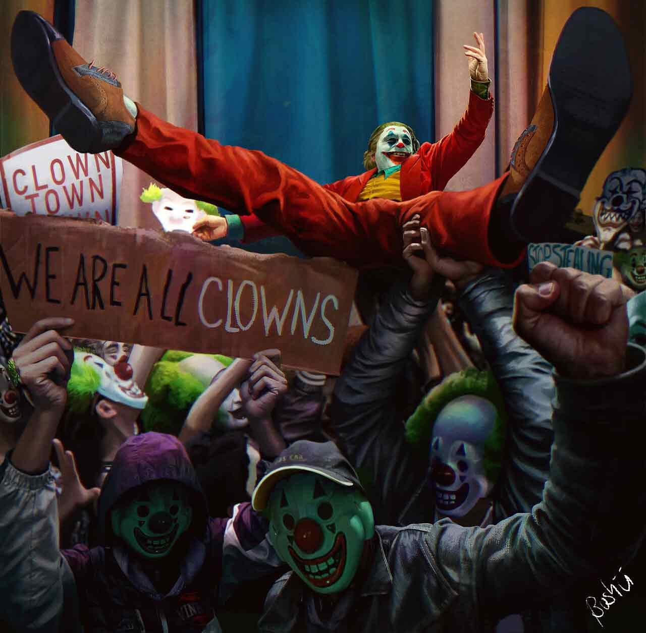 Joker es tomado como símbolo de protesta social.