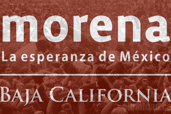 Morena de Baja California.