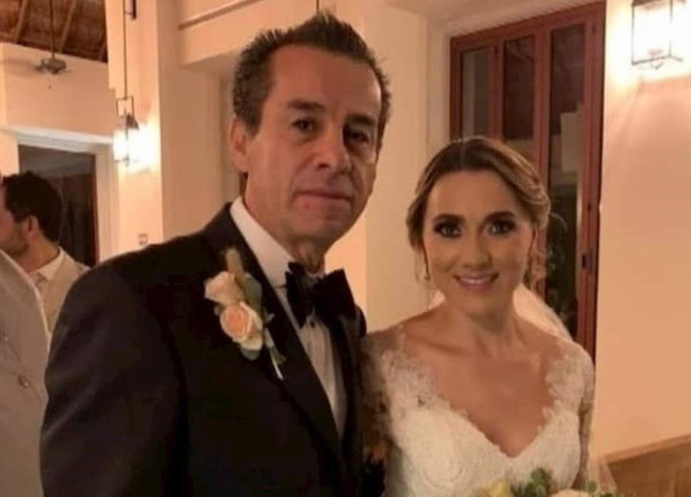 Raúl Orihuela se casó con la viuda de su propio hijo.