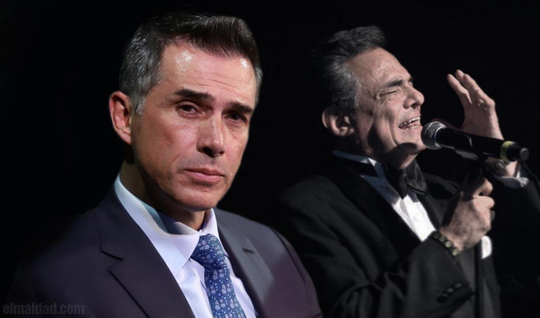 Dicen las malas lenguas que Sergio Mayer estafó a José José.