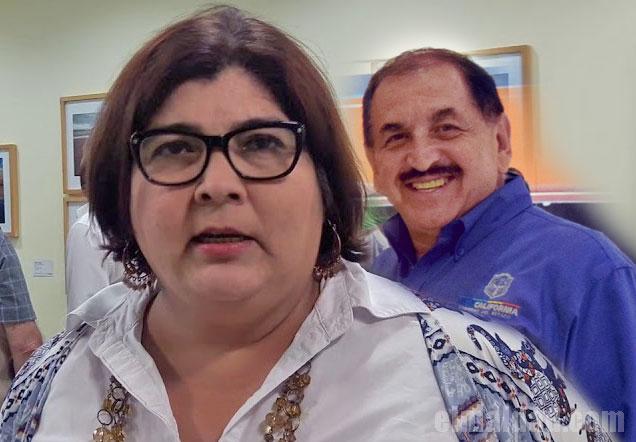 Xóchilt Contreras y Manuel Bejarano.