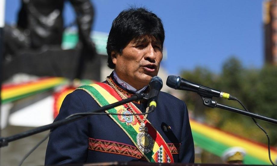 Evo Morales, ex-presidente de Bolivia.