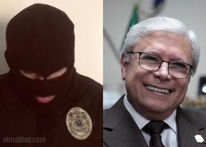 Policía que denunció al director de la nueva guardia estatal del gobierno de Jaime Bonilla.