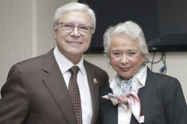 Jaime Bonilla y Olga Sánchez Cordero.