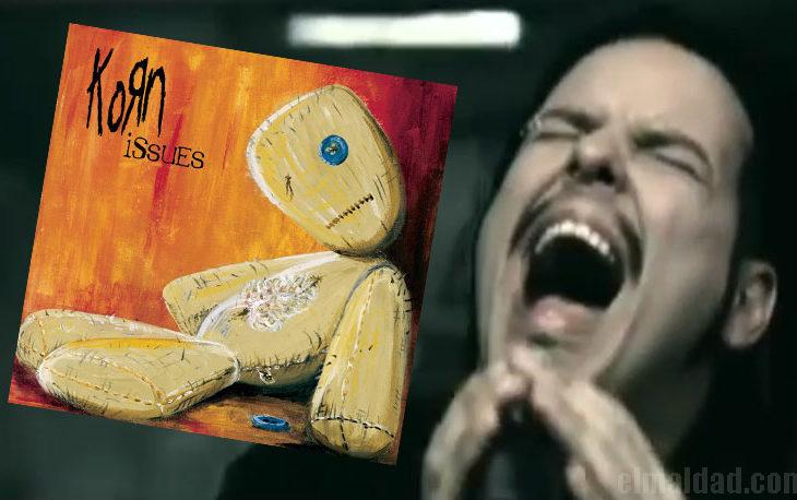 Disco Issues y Jonathan Davis, cantante de Korn.